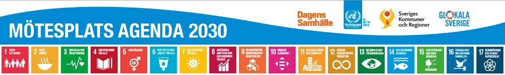 Mötesplats Agenda 2030 footer