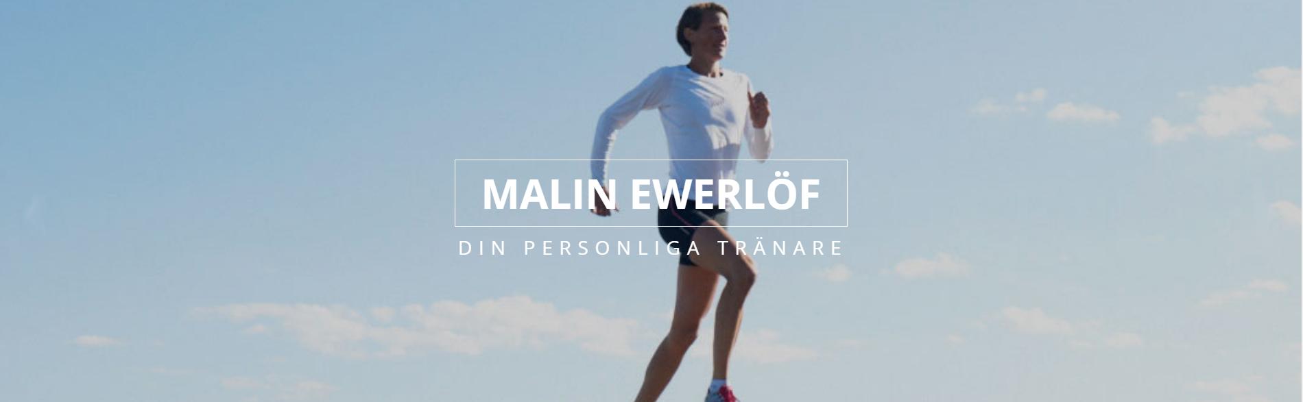 Förbättra din löpning med Malin Ewerlöf