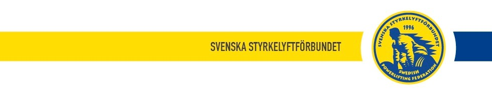 Svenska Styrkelyftförbundets bokningssida